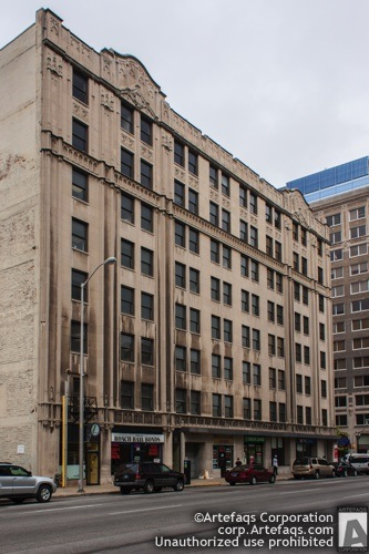 Stock photo of Barrister Building - Indianapolis, Indiana, May, 2012, 155 East M
