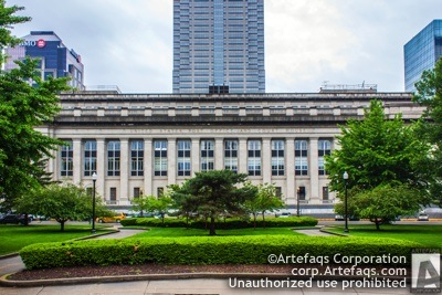 Photograph of Birth Bayh Federal Building and Courthouse - Indianapolis, Indiana