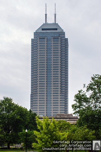 Stock photo of Chase Tower - Indianapolis, Indiana