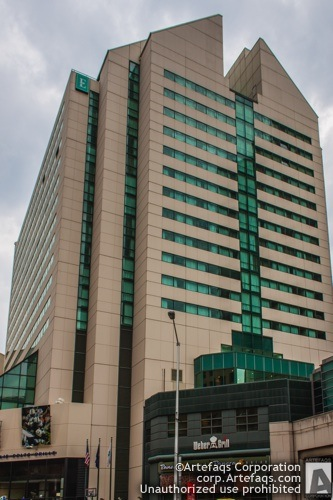 Photograph of Embassy Suites Indianapolis Downtown - Indianapolis, Indiana, May, 2012, 110 Wes