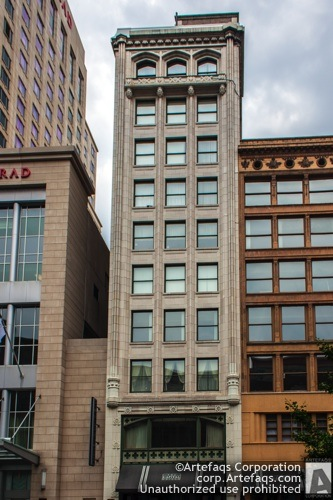 Photograph of Goodman Building - Indianapolis, Indiana, May, 2012, 26 West Washi