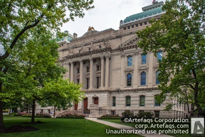 Stock photo of Indiana State Capitol - Indianapolis, Indiana