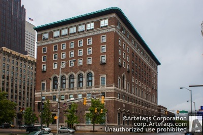 Stock photo of Indianapolis Athletic Club, 350 North Meridian Street - Indianapolis, Indiana