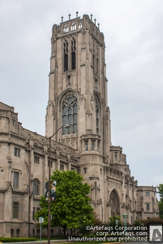 Stock photo of Indianapolis Scottish Rite Cathedral, 650 North Meridian Street - Indianapolis, Indiana