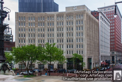 Photograph of IPL Building, 1 Monument Place - Indianapolis, Indiana
