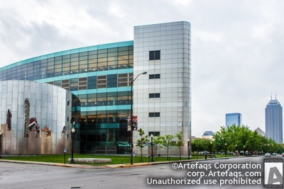 Stock photo of Marion County Central Library, 40 East Saint Clair Street - Indianapolis, Indiana