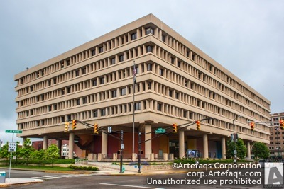 Stock photo of Minton-Capehart Federal Building, 575 North Pennsylvania Street - Indianapolis, Indiana