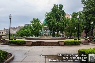 Stock photo of University Park, Indianapolis, Indiana