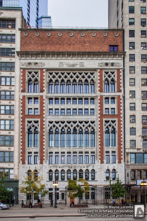 Stock photo of Chicago Athletic Association, Chicago, Illinois