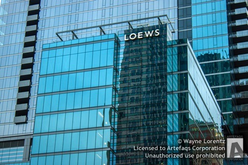 Stock photo of Loews Hotel Tower - Chicago, Illinois
