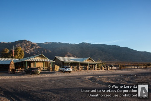 Stock photo of Furnace Creek General Store, Death Valley, California
