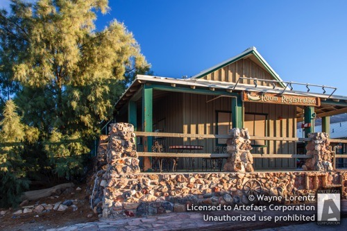 Stock photo of Inn at Furnace Creek, Death Valley, California