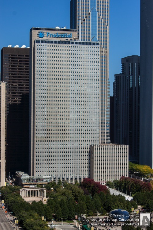 Stock photo of 1 Prudential Plaza - Chicago, Illinois