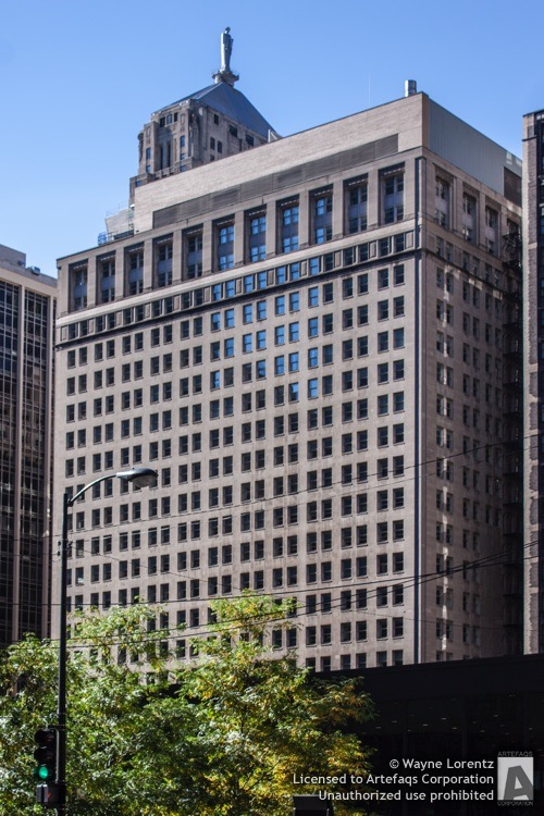Photograph of Bank of America Building, 230 South Clark - Chicago, Illinois