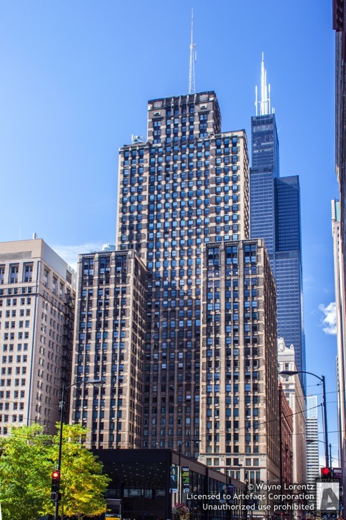 Stock photo of Clark Adams Building - Chicago, Illinois
