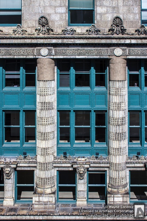 Stock photo of Peoples Gas Building, Chicago, Illinois