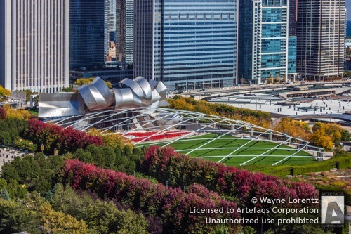Photograph of Pritzker Pavilion - Chicago, Illinois