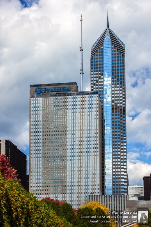 Stock photo of Prudential Plaza, Chicago, Illinois