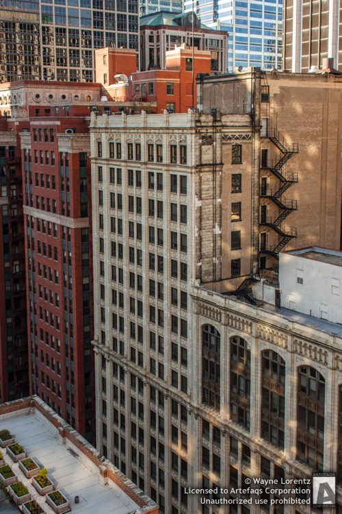 Stock photo of Randolph-Wells Building, Chicago, Illinois