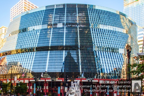 Stock photo of Thompson Center, Chicago, Illinois