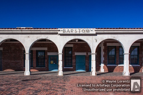 Stock photo of Barstow Harvey House, Barstow, California -